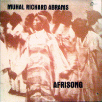 CD cover of Muhal Richard Abrams AFRISONG