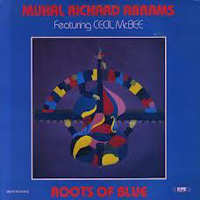 CD cover of Muhal Richard Abrams ROOTS OF BLUE, Featuring Cecil McBee, Cover Art: Muhal Richard Abrams