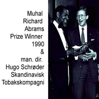 CD cover of MUHAL RICHARD ABRAMS & THE DANISH RADIO BIG BAND