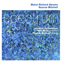 CD cover of Muhal Richard Abrams SPECTRUM with Roscoe Mitchell, Cover Art: Muhal Richard Abrams
